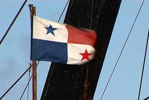 Convenience flag - this portrays Panama flag