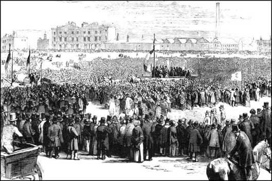 Chartist demonstration