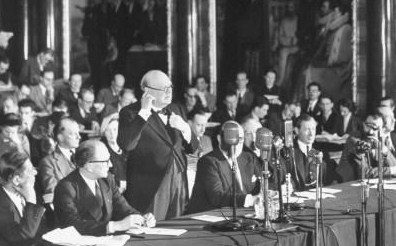 European Movement Conference and Winston Churchill
