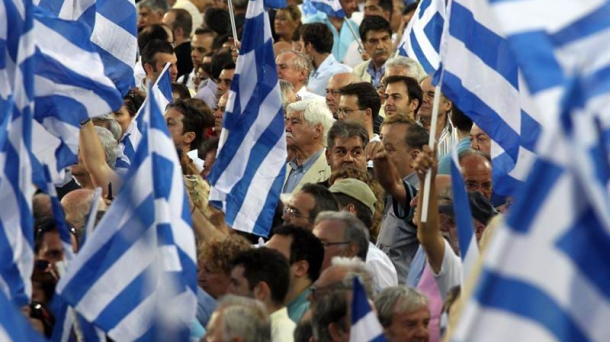 Demonstration in Greece