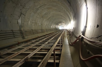 Tunnel for Crossrail project